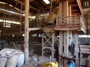 The local rice mill - straight out of Dickens